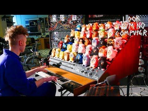 An organ made of Furbies