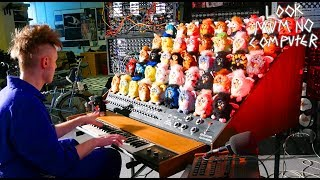 THE FURBY ORGAN, A MUSICAL INSTRUMENT MADE FROM FURBIES waptubes