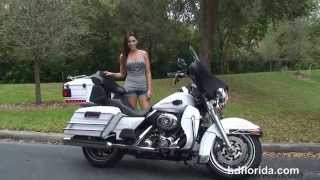 6. 2008 Harley Davidson Ultra Classic Electra Glide  - Used Motorcycles for sale