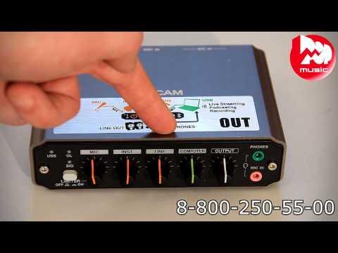 Аудио интерфейс TASCAM US-125M