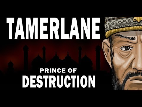 Tamerlane & History of The Timurid Empire