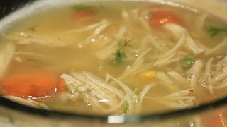 Today we show you how to cook Basic Chicken Soup Easy and Cheap Oh yea! It is one very versatile soup... You can add Raw...