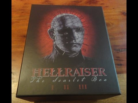 Arrow Video's Hellraiser - The Scarlet Box Limited Edition Blu-ray Set Unboxing