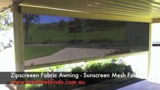 Zipscreen Awning Mesh Fabric Lismore