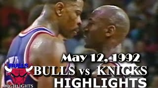 Video May 12, 1992 Bulls vs Knicks game 5 highlights MP3, 3GP, MP4, WEBM, AVI, FLV September 2019