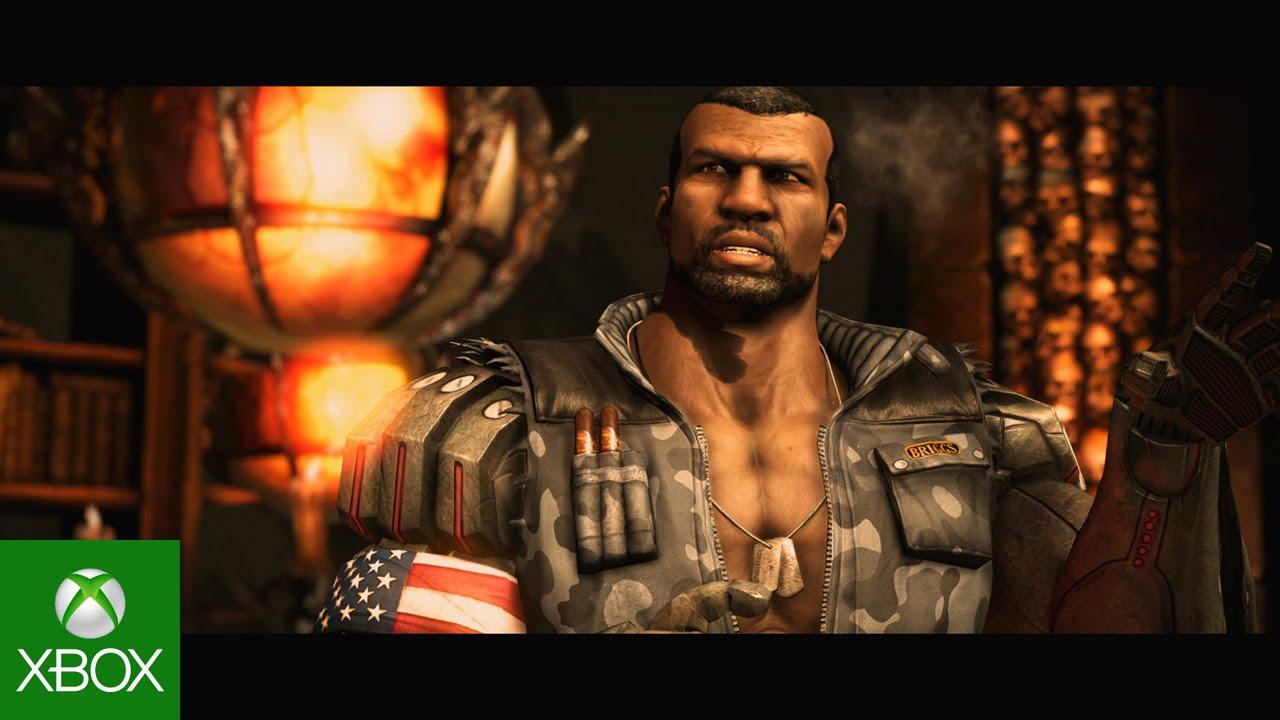 Mortal Kombat X Official Briggs Family Trailer