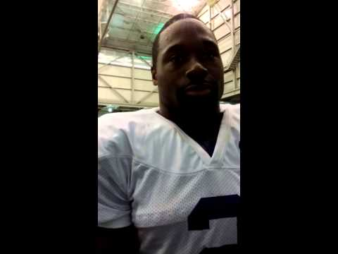 Kasen Williams Interview 10/16/2013 video.