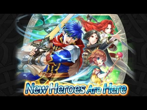 IKE IS HERE!  Fire Emblem Heroes - World of Radiance Update Announcement! (видео)