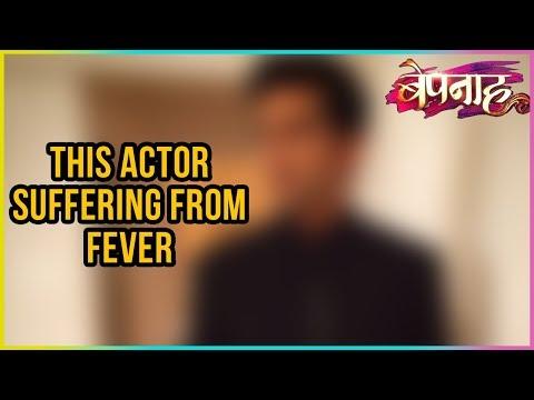 This Bepannah Actor Shoots Despite Having 103 Degr