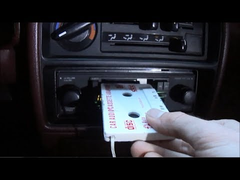How to Fix a Car Audio Cassette Adapter