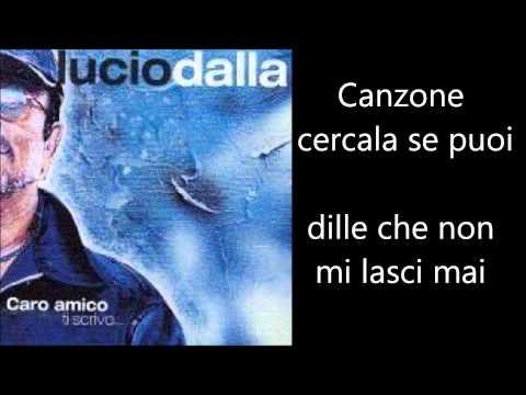 , title : 'Lucio Dalla - Canzone Testo Lyrics'