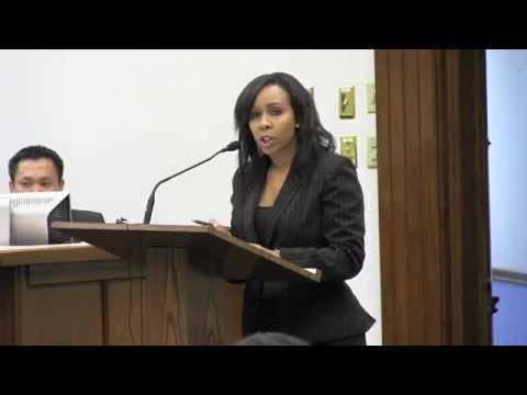 GlenNeta Griffin Moderates the Morrow Town Hall Meeting (Demo)