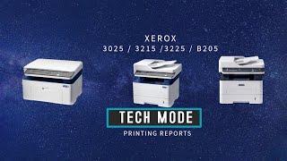 English http://www.ereset.com/xerox/reset-xerox-workcentre-3025bi-3025ni-3025dn-3025-dni-fix-firmware/Romana   http://www.ereset.com/xerox/resoftare-resetare-xerox-workcentre-3025bi-3025ni-3025dn-3025dni/If the printer NOT allows you to print the page (or the cartridge is at  0%) quickly type the following key combination to print reports in TECH MODE------------------------------------------------------------Daca imprimanta nu permite listarea paginilor  (sau cartusul a ajuns la 0%) tastati rapid combinatie de taste pentru imprimarea rapoartelor in TECH MODE