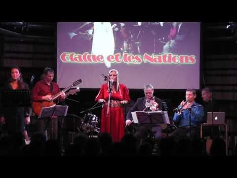 Elaine Kibaro en Concert à la Maison de la Tunisie