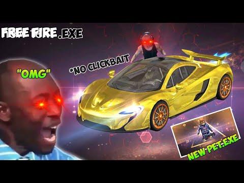 FREE FIRE.EXE | McLaren gold sprak and new pet.EXE (ff lucu exe)