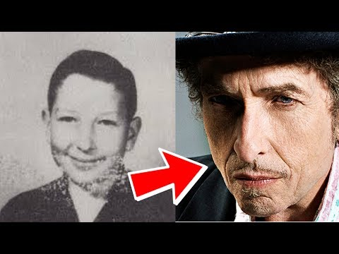 Bob Dylan from 3 to 76 years old