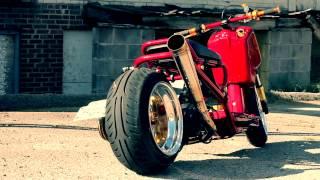 3. LacedUP Honda Ruckus