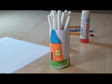 Поделка карандаш из бумаги своими руками
