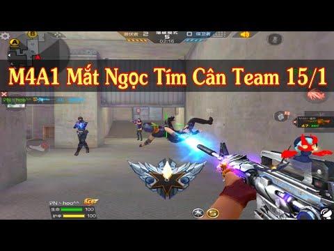 CF Legends : M4a1 Transfomers Mắt Rồng Tím Cân Hết Team - Thời lượng: 11 phút.