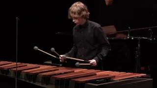 Steije Maurer (marimba) - Nationale Finale Prinses Christina Concours 2017