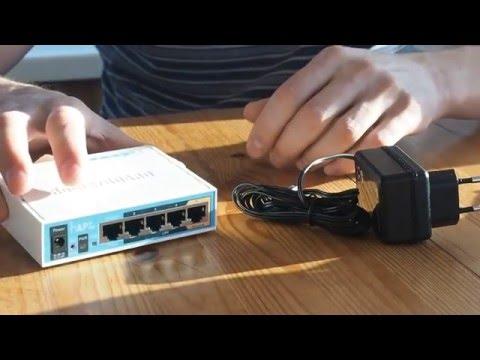 Mikrotik hAP ac lite - домашний двухдиапазонный роутер