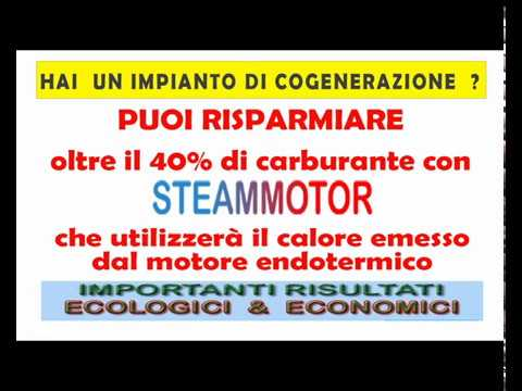 STEAMMOTOR  motore a vapore YELD 30%
