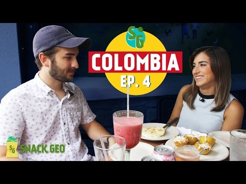Snack Geo EP. 4 - First Time Eating Colombian Food