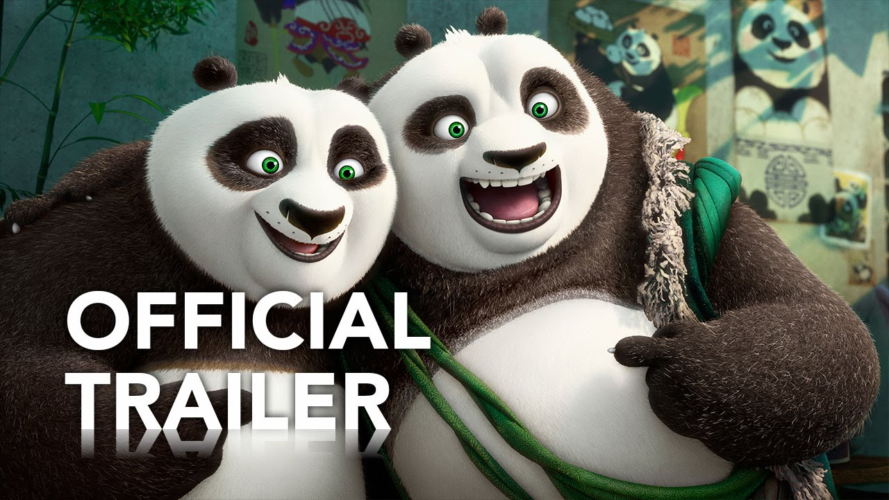 Movie Trailer:  Kung Fu Panda 3 (2016)