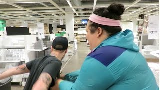 WE GOT BANNED FROM IKEA!!!