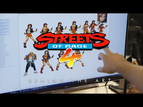 Behind the Art de Streets of Rage 4