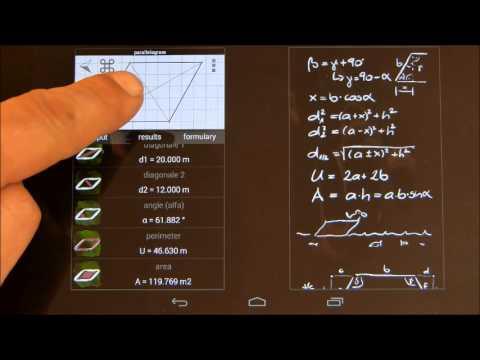 Video of Calc Area Solver
