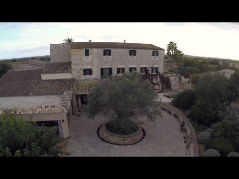 Video of a drone in Son Trobat