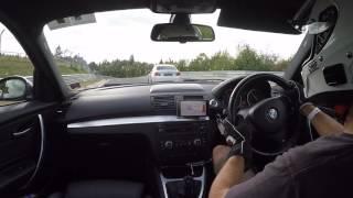 BMW 135i vs M235i vs M2 Nurburgring Nordschleife Trackday 26.09.16