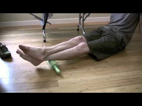 stretch reflex - Calf-Hip Stretch Reflex with instruction by Scott Hadley, PhD, DPT.