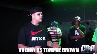 Central Battle Association | Freddy vs. Tommie Brown