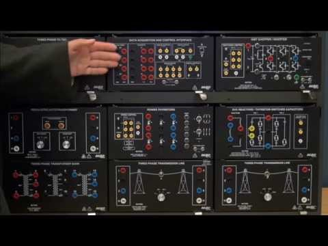 Hisco : Power Transmission Smart Grid Technologies Training System – LabVolt Series 8010-E (Malaysia)