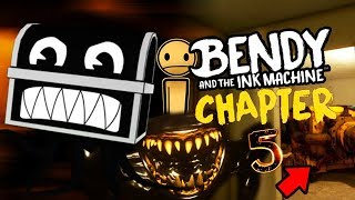 A SECRET FORGOTTEN INK BOSS AND CHARACTER FOUND! || Bendy and the Ink Machine Chapter 5 Easter Eggs