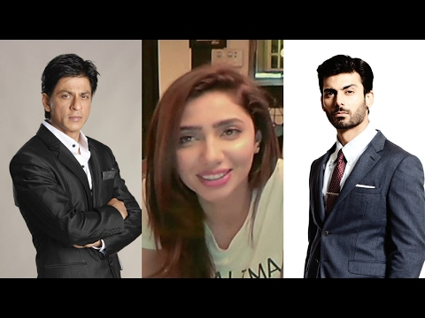 Mahira Khan Was Asked To Compare Shah Rukh and Fawad