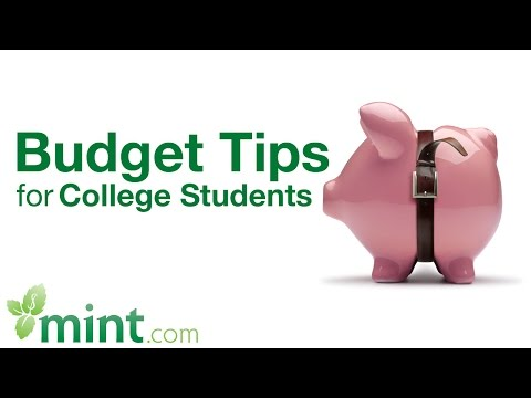 Budgeting Tips for College Students  | Mint Student Finance Tips Video