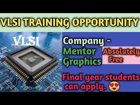 VLSI Free training | Mentor Graphics