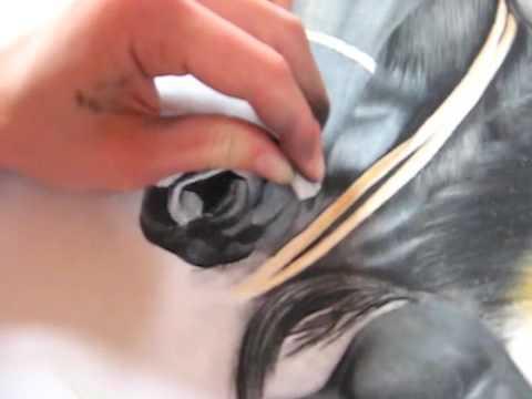 horse.Arts – Entstehung einer Zeichnung