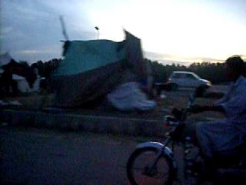 Así se encuentra una ciudad de Pakistán tras las fuertes lluvias
