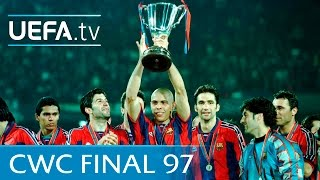 Download Video Barcelona v Paris Saint-Germain: 1997 UEFA Cup Winners' Cup final highlights MP3 3GP MP4