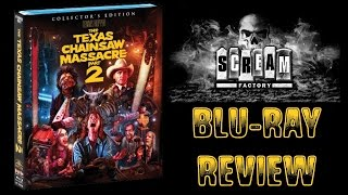 TEXAS CHAINSAW MASSACRE 2 (1986) - Scream Factory Blu-ray Review