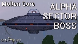 Quick guide to summon and beat the first boss and access to the next sector and get the molten core from the Penguin UFO Check my channel with more videos li...