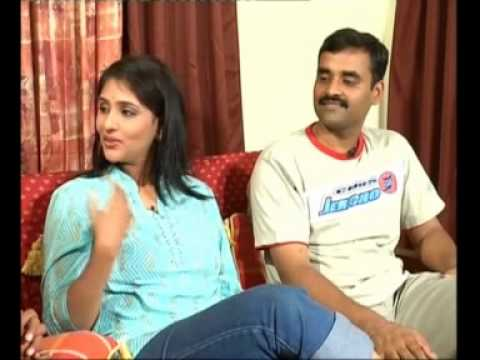 Chit Chat With - TV Anchor Bharghavi - and her Husband 02