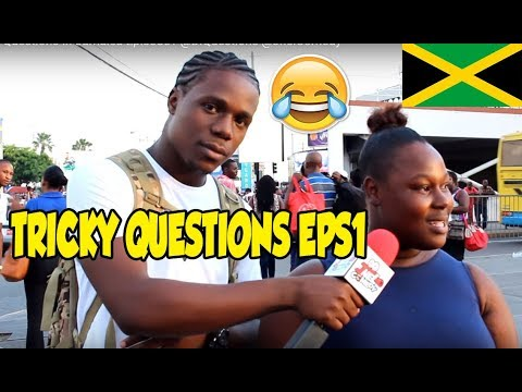 Trick Questions In Jamaica Episode1 [halfway Tree]  @jnelcomedy