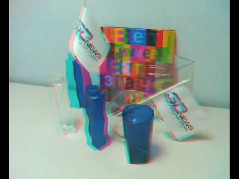Anaglyph: Fujifilm FinePix REAL 3D W1 Test