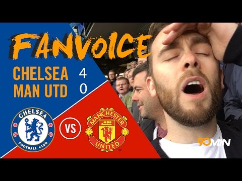 Worst Man United performance ever?! | Chelsea smash Man United 4 - 0 | 90min FanVoice