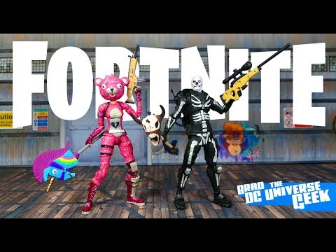 A DC Multiverse Fan Reviews 2 Of McFarlane's Fortnite Action Figures
